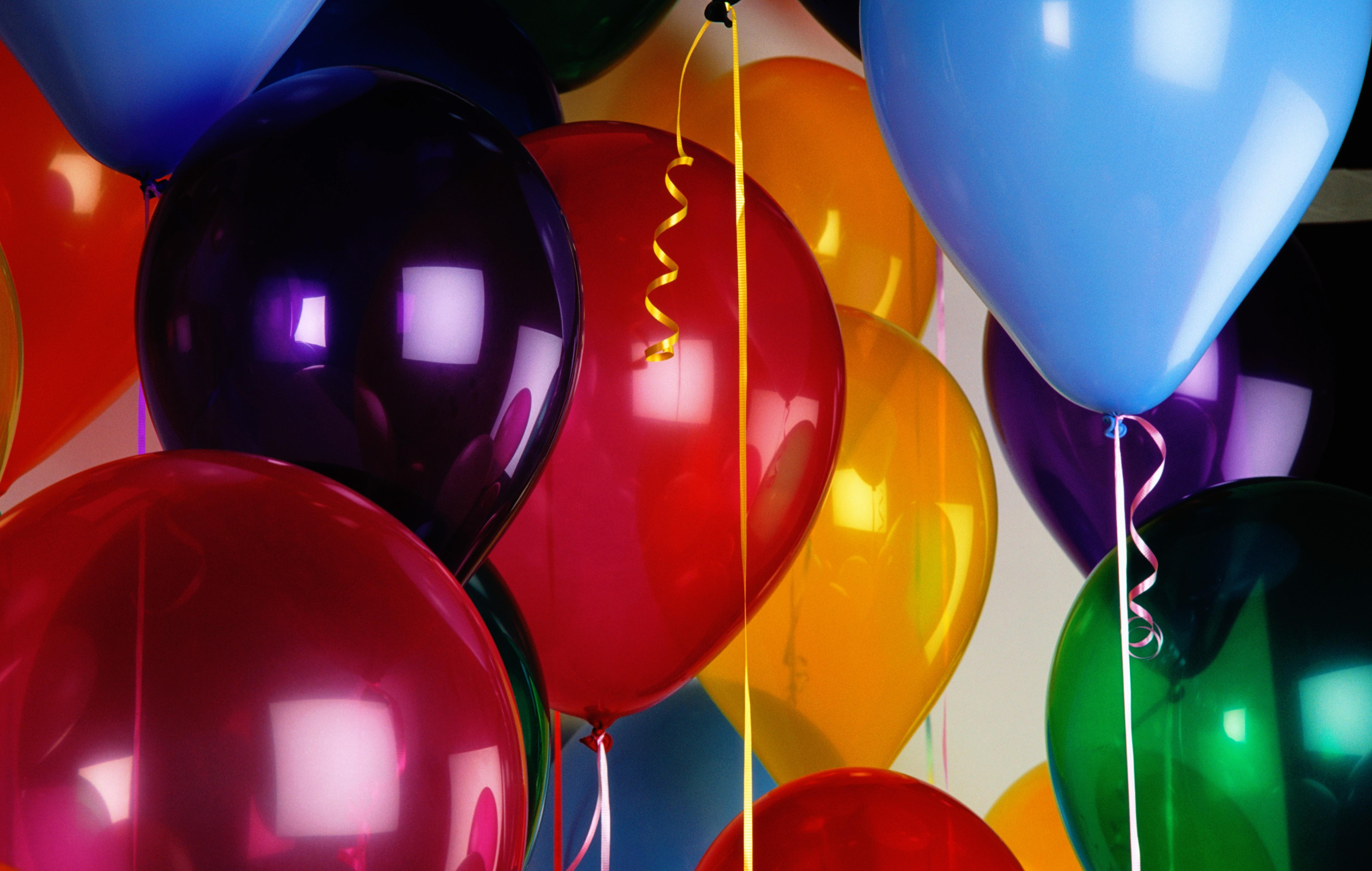 Воздушные шары фото открытка